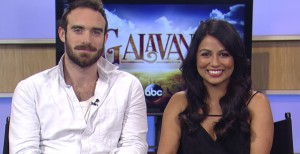 """'Galavant's' Joshua Sasse and Karen David talk pop songs and best moments"""